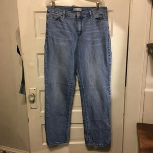 Levi's Sz 16 M 512 Perfectly Slimming Denim Jeans